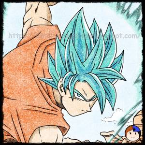Dibujando Dragon Ball: Son Goku SSGSSJ