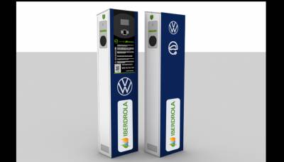 Volkswagen Navarra e Iberdrola inician el despliegue de cargadores eléctricos en la fábrica