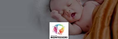El desarrollo del bebé de 0 a 6 meses en la crianza Montessori