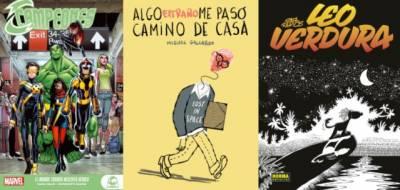 Campeones: El Mundo Todavía Necesita Héroes, Algo Extraño Me Pasó Camino De Casa Y Leo Verdura: Integral