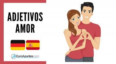 Amor Parejas Adjetivos Alemán Español