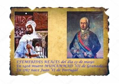 Cosas De Historia Y Arte: Efemérides Reales Del Día 13 De Mayo