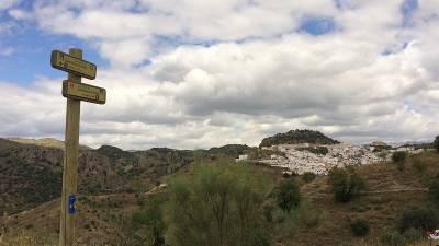 El itinerario jacobeo de Málaga empieza en una de las zonas más montañosas de España