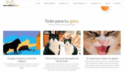 Colaboración para Todoparatugato. es: El gato, el perro y el anillo mágico (relato Corto)