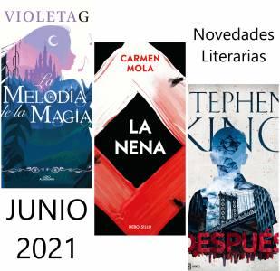Novedades Literarias JUNIO 2021
