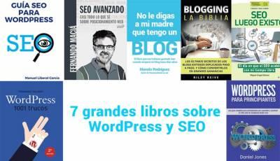 7 grandes libros sobre WordPress y SEO