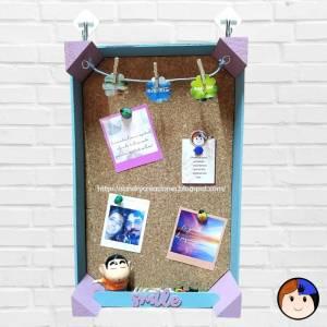 Convertimos una Caja de Fresas en un Panel Para Poner Notas y/o Fotos
