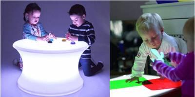 Mesas de luz Montessori: cual es la mejor? | Educa con Montessori