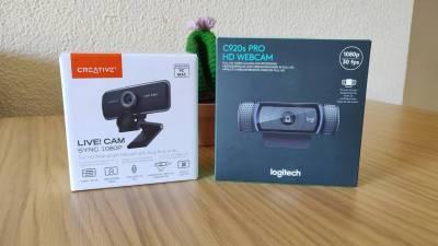 La mejor webcam que puedes comprar para teletrabajar [comparativa]