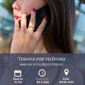 ✓ Terapia Psicológica Telefónica  • Servicios de Psicología