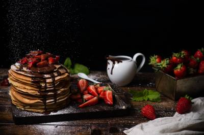 Cómo hacer tortitas americanas caseras o pancakes - Dulcespostres. com