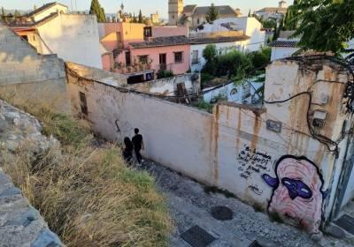 Calle de Sacromonte - Granada