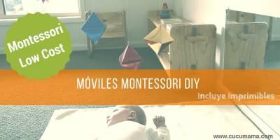 Como hacer Móviles Montessori para tu bebé