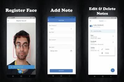 FaceAct Notes: app móvil para guardar tus contraseñas de forma segura