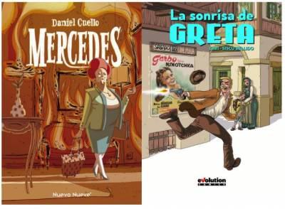 Comics a pares: 'La sonrisa de Greta' y 'Mercedes'