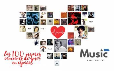 Las 100 mejores canciones de amor en español