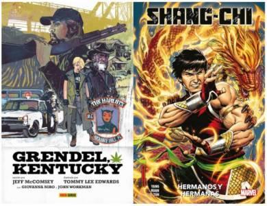 Comics a pares: Reseña de 'Shang-Chi' y 'Grendel, Kentucky'