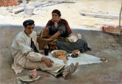 Cosas De Historia Y Arte: Las Doce De Cecilio Pla Y Gallardo