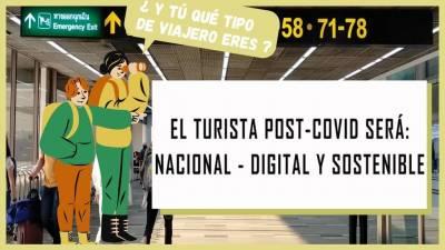 El turista PC (Post Covid) será Nacional, Digital y Sostenible