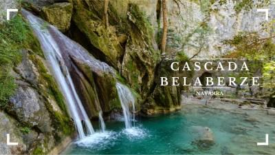 Cascada de Belabarze. Navarra