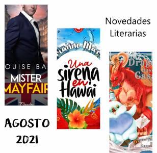 Novedades Literarias AGOSTO 2021