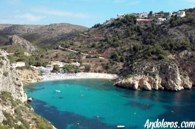 Cala Granadella (Jávea), una de las mejores playas de Alicante