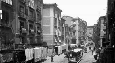 Calle Toledo en 1980