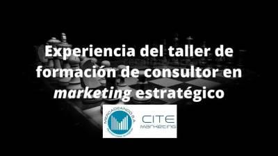 Taller de formación de consultor en marketing estratégico