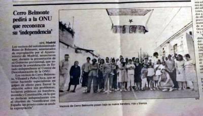 Cerro Belmonte: El barrio de Madrid que se independizó de España