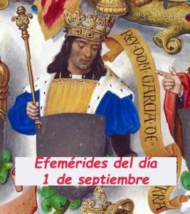 Cosas De Historia Y Arte: Efemérides Reales Del Día 1 De Septiembre
