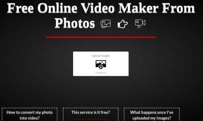 Convert2Video: una página gratuita para crear vídeos con tus imágenes