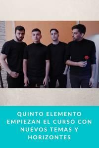Quinto Elemento empiezan el curso con nuevos temas y horizontes - Munduky