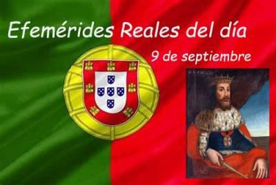 Cosas De Historia Y Arte: Efemérides Reales Del Día 9 De Septiembre