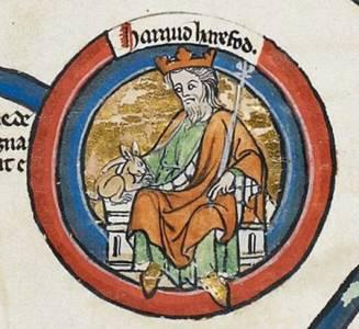 Cosas De Historia Y Arte: Haroldo Pie De Liebre, Rey De Inglaterra