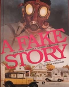A Fake Story (cómic basado en la novela de Douglas Burroughs)