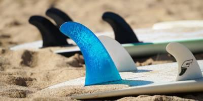 Las quillas en las tablas de surf