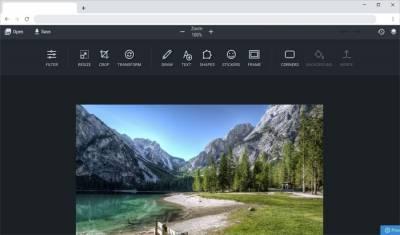 UpperPix: un excelente editor de imágenes online y de uso gratuito