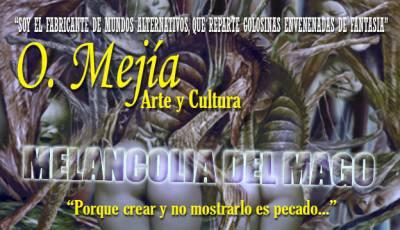 Melancolia Del Mago - Ilustración Y Prosa De O. Mejía