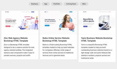 Inovatik HTML Templates: plantillas HTML gratuitas para crear tus sitios
