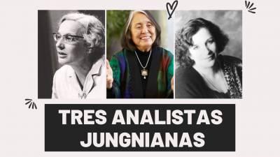 Tres analistas jungnianas