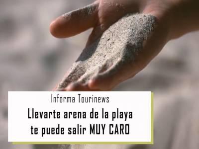 Sustraer Arena De Playa Es Delito