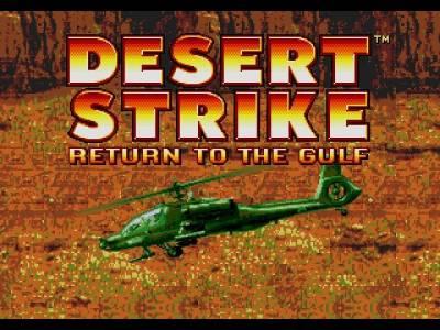 Retro Review de Desert Strike: Return to the Gulf