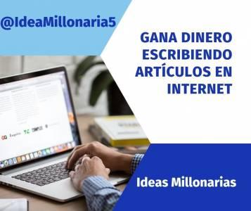 Gana Dinero Redactando Articulos En Internet