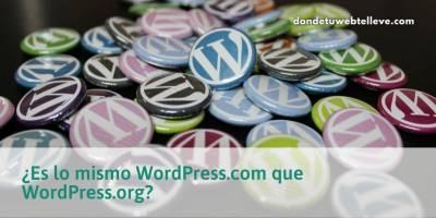 Diferencias entre WordPress. org y WordPress. com   Entérate bien o puedes pagarlo caro