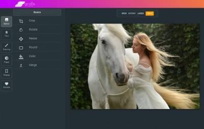 Grafix Image Editor: un excelente editor de imágenes en línea y gratuito