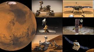 Suspendidas las comunicaciones entre Marte y la Tierra