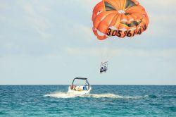 Parasailing en Punta Ccana